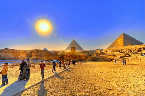 pyramid giza egypt hdr 01