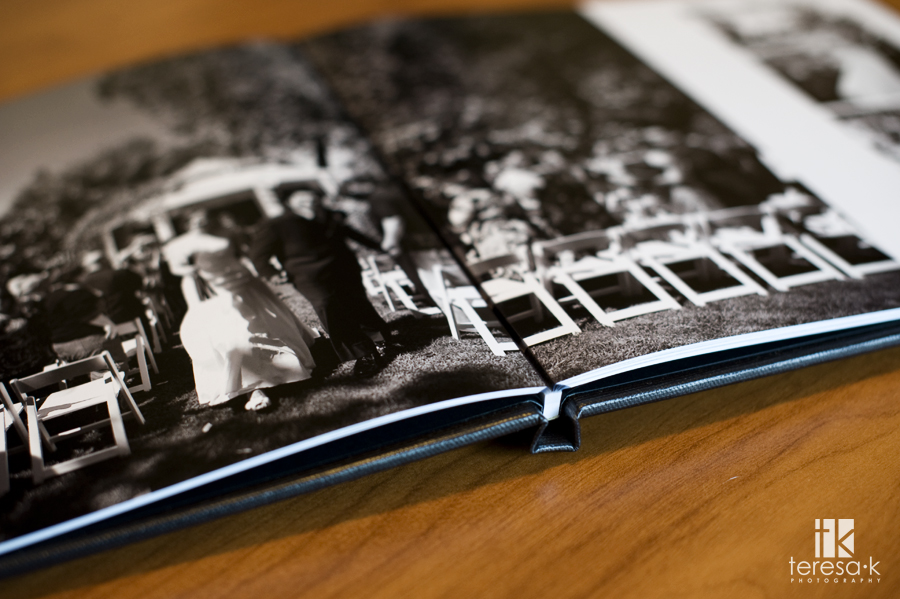 Folsom Wedding photographer Teresa K, coffee table book