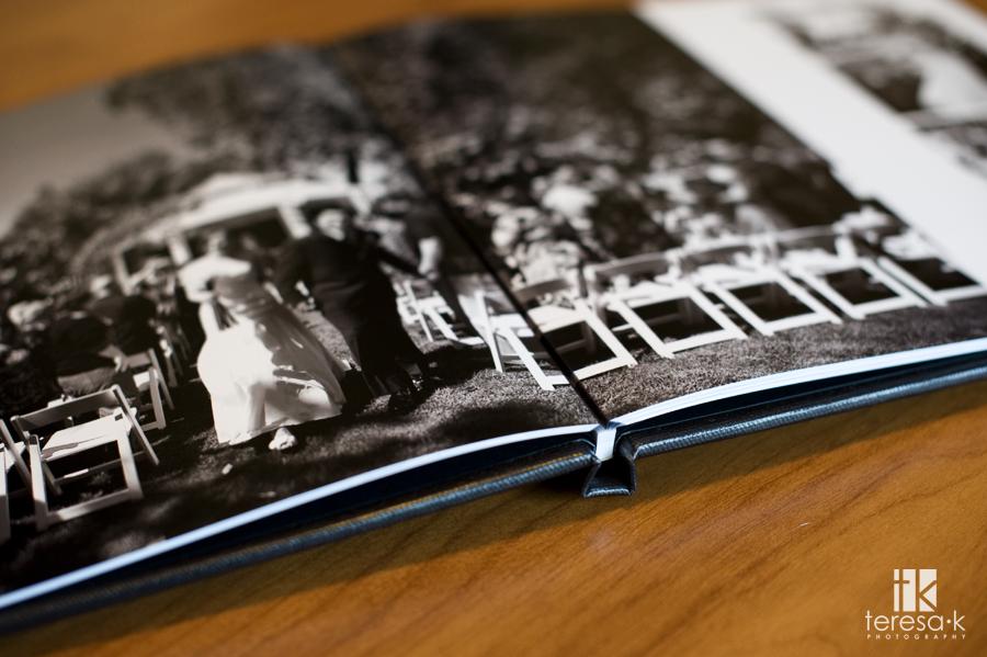 Folsom Wedding photographer Teresa K, coffee table book