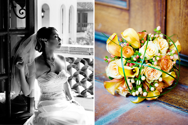 turnip rose wedding bridal portraits