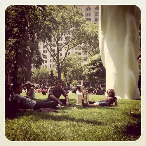 Park is buzzin'