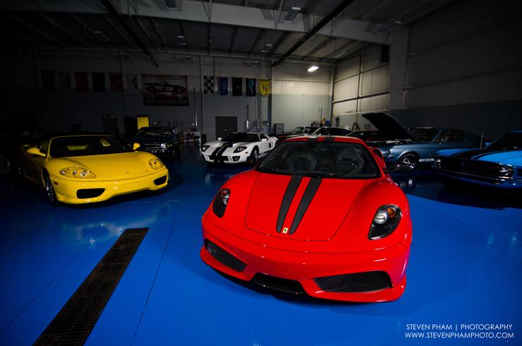 ferrari scud car collection garage by steven pham and autolavish