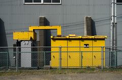 20110521-1147 (sandman_kk) Tags: yellow japan wall day factory box ibaraki toride