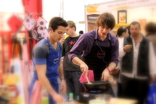 Callum Hann from MasterChef Australia Season 2 (Runner Up) demonstrates