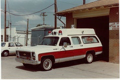 1970 Chevrolet Suburban Ambulance, Balch Springs, Texas, Fire Department (Dr. Mo) Tags: rescue warning accident ambulance emergency ems siren procar procars professionalcar drmo jimmoshinskie