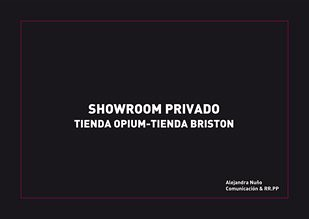 ShowRoom Privado