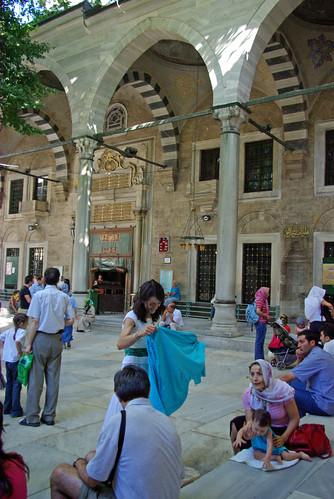 Eyup Sultan Mosque, Eyüp, İstanbul, Pentax K10d