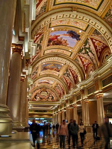 Inside Venetian Hotel