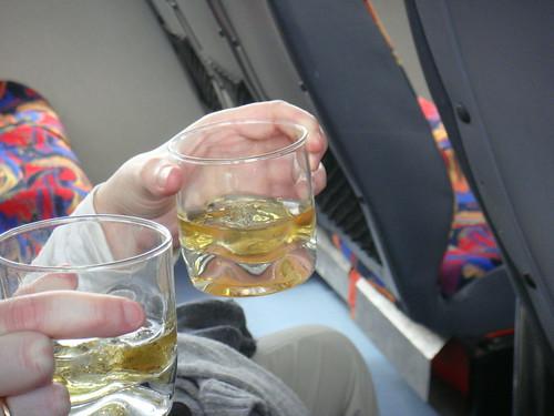 Whisky con hielo del Perito Moreno