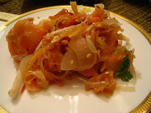 My plate of Yu Sheng - Yan Ting, St Regis