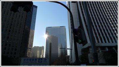 新宿をちょっと撮ってみた