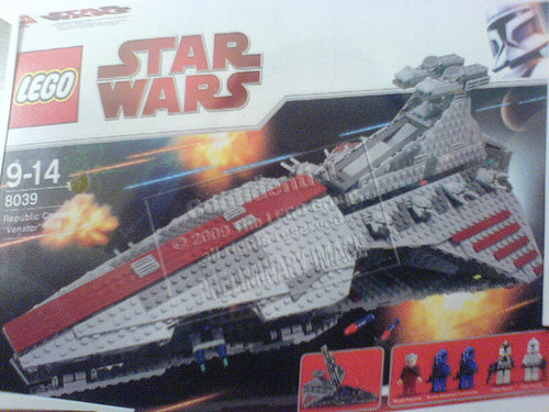 Lego Republic Cruiser Venator class8039 Its reaaal