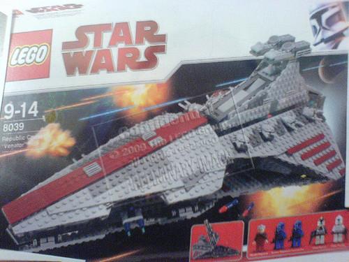 Lego Republic Cruiser Venator class8039 Its reaaal