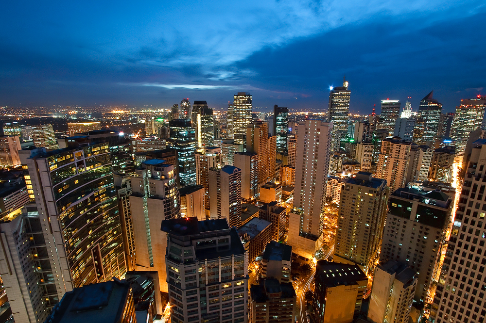 Philippines the beautiful metro manila skyline skyscrapercity sciox Image collections