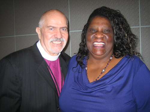 Rev. Troy Perry and Eva Paterson
