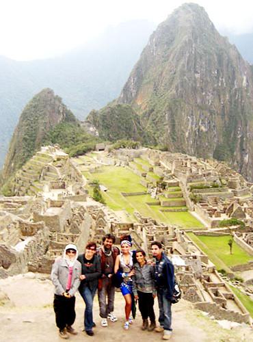 Endhiran: Machu Picchu Shooting: Rajini Kant, Aishwarya Rai and others