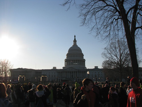 March for Life 2009 - the White House