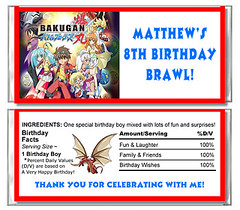 Bakugan Candy Wrapper Favor (Kid's Birthday Parties) Tags: birthday party kids child partyfavor bakugan personalizedfavors candywrapperfavor personalizedcandywrapper personalizedpartyfavor bakugancandywrapper bakuganbirthday bakuganparty