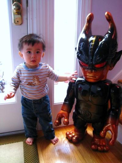 Kozik 36 Inch Mutant Evil