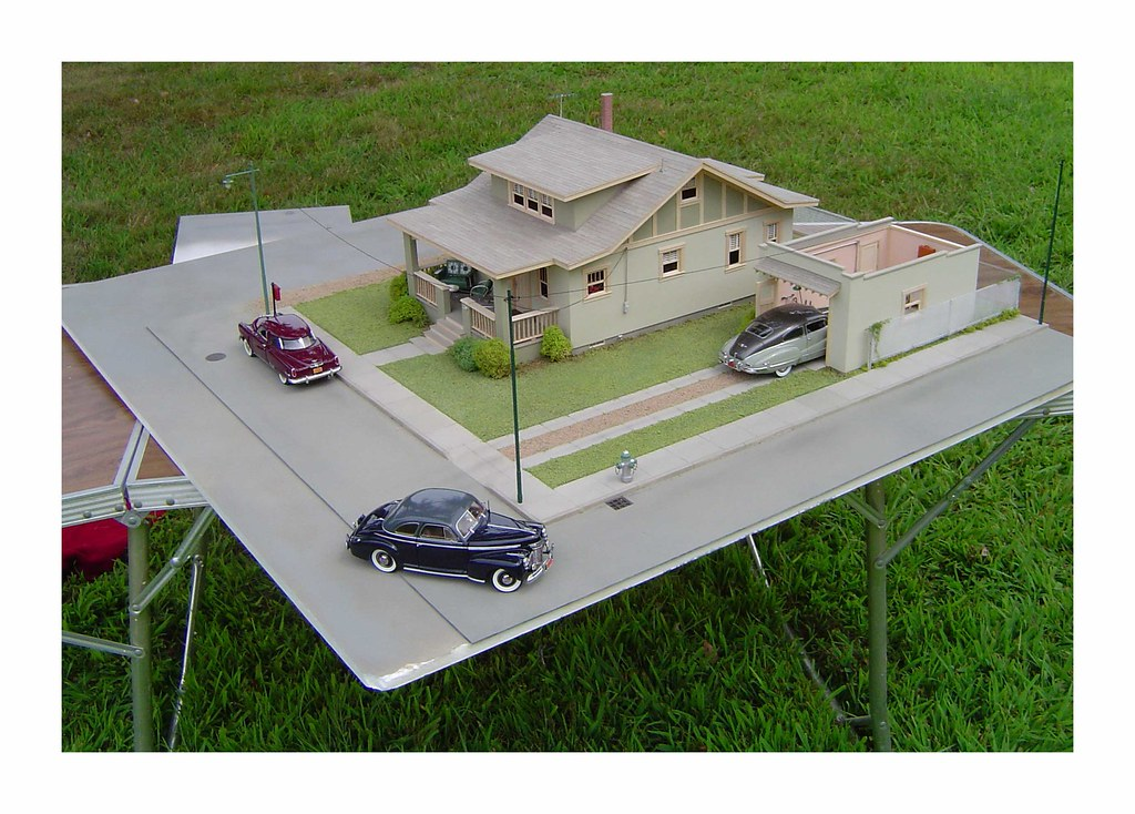 Scale Model Car Dioramas