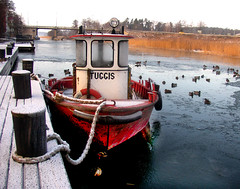 "The boat ""Tuggis"" by the waterchannel (Per Ola Wiberg ~ Powi) Tags: winter ice boats boat is sweden explore harmony showroom sverige february splash 2009 bt februari musictomyeyes awesomeshot redgroup beautifulearth photohobby hiddentreasure eker topshots inmyeyes a tappstrmskanalen tappstrm mywinners thethreeangels diamondheart aplusphoto superphotos theothervillage keepyoureyesopen flickrbronzeaward heartawards eliteimages allfromatoz flickridol goldstaraward photoexplore highqualityimage ilovemypics explorewinnersoftheworld beautifulshot thedigitographer grouptripod panoramafotogrfico doubledragonawards brilliantphotography tif seasonsmagic greatshotss sapphireawards bestofbeautiful flickrsgottalent thebestshotplatinumaward eliteflickridol kingdomphotography ringexcellence peaceandheart level1photographyforrecreation natureskingdomawards level2photographyforrecreationsilver level4photographyforrecreationemerald level3photographyforrecreationforgold photoinfocus"