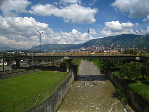 A view toward central Medellin