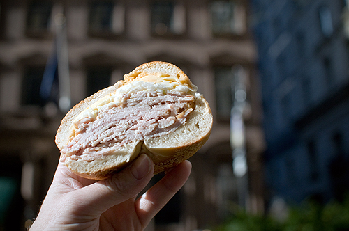 Downtown Lunch: Leos Bagels