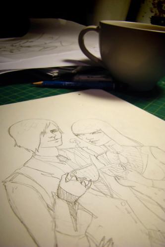 winterwoods sketch