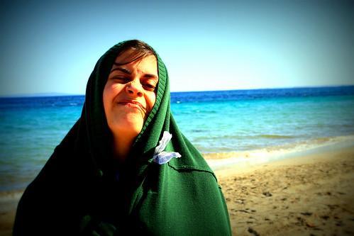 Yo en Ibiza en la playa by Mil Pamplinas