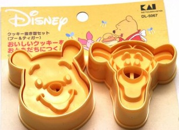 Disney Pooh & Tigger Cookie Cutter