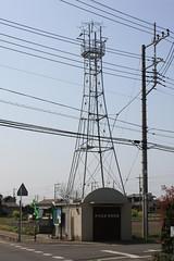 伊佐沼の火の見櫓(川越市)