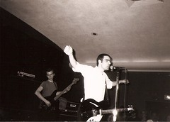 Joe and Guy, Fugazi, UCONN, 1991