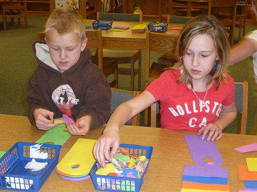 Crafts at Farrell Elementary