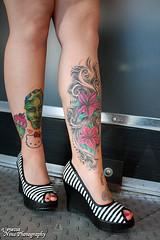 14_Ali (Venessa Nina) Tags: hello flowers woman hot cute sexy girl tattoo ink photography skull model dress cupcake nina alison murphy inked tats heals kity venessa fivefootmohawk venessaninaphotography