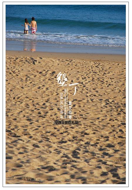 【墾丁景點】來渡假吧~墾丁夏都飯店海灘實景30