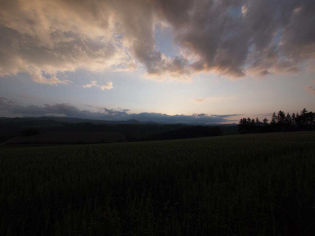 E-P1 Test Shot @Biei, Hokkaido 3 (gradatioin setting compare 1)