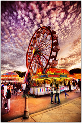 Take me for a spin (Extra Medium) Tags: carnival summer kids clouds fiesta circus ferriswheel camarillo hdr