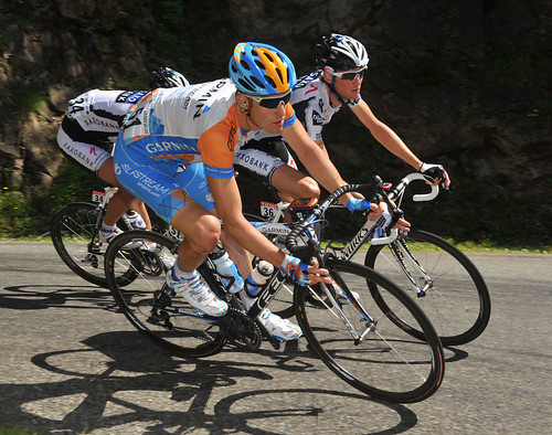 Wiggo, VDV hangin' tough: Tour de France, stage 8