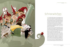 snowwhite (akrapf) Tags: illustration fairytale book vector brothersgrimm akrapf
