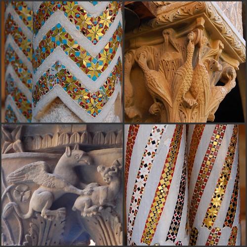 Collage di monreale chiostro