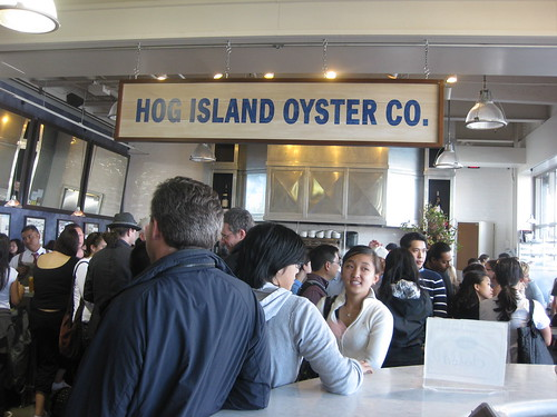 Hogs Island in San Francisco - Happy Hour Wait!!