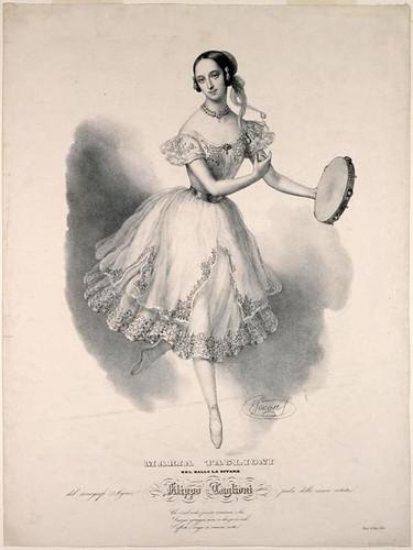 003- Maria Taglioni en el baile de la gitana-1841
