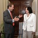 Tom with Justice Sonia Sotomayor