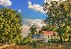 Dade County Abandoned Farm House (Uncle Phooey) Tags: abandoned clouds farmhouse rural landscape scenic bluesky mo explore oldhouse missouri ozarks hdr highdynamicrange ruraldecay timespast walnuttrees southwestmissouri unclephooey scenicmissouri