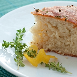 Lemon & Thyme Yogurt Cake