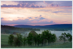 Sunrise Over Canaan Valley, West Virginia ([Christine]) Tags: sunrise westvirginia canaanvalley specnature cortlandroad