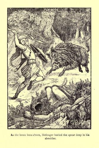 031-La caza del jabali caledonio-Los niños del Alba 1908- Frank Pape Cheyne
