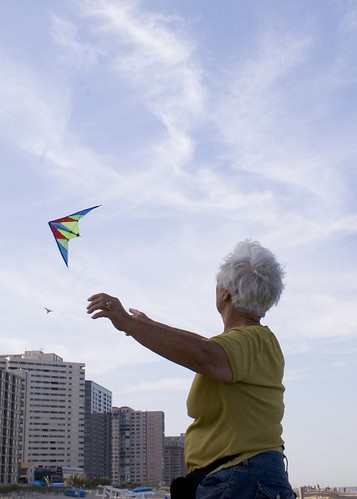 Mom and the Kite