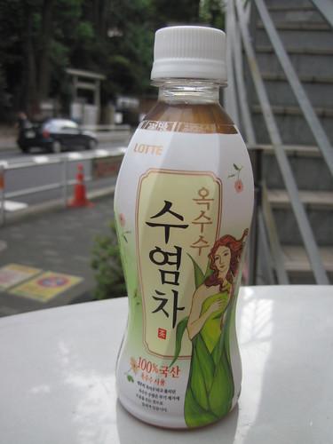 ロッテのトウモロコシのひげ茶