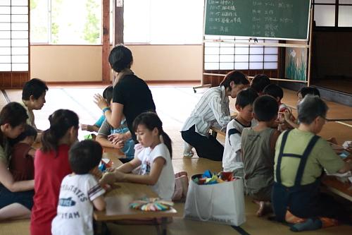 2009順光寺サマースクール 工作の時間